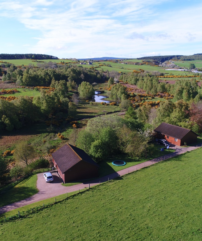 Hiddenglen Holidays lodges near Nairn